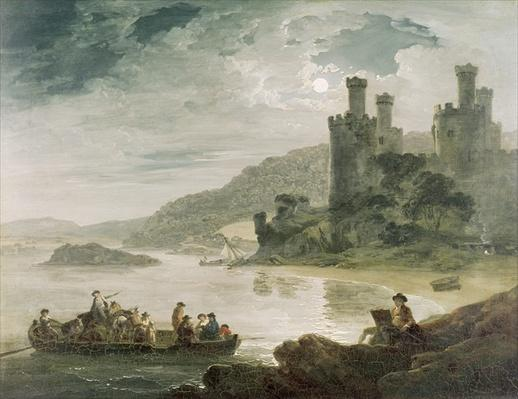 Conway Castle, 1794