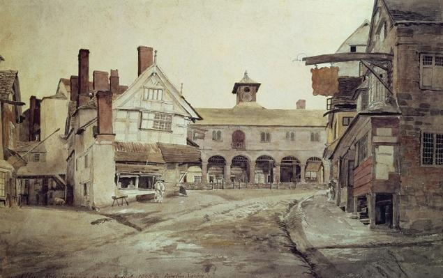 Market Place, Hereford, 1803