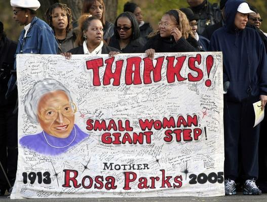 Thousands Gather For Funeral Of Rosa Parks | Civility & Brutality | The 20th Century Since 1945: Civil Rights & the New Millennium