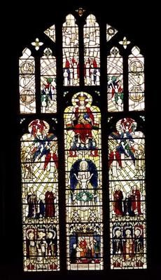 Window in Worcester Cathedral, 15th century