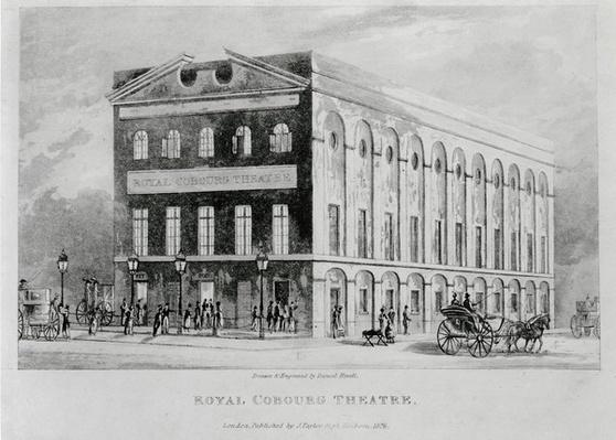 The Royal Coburg Theatre, Surrey, 1826