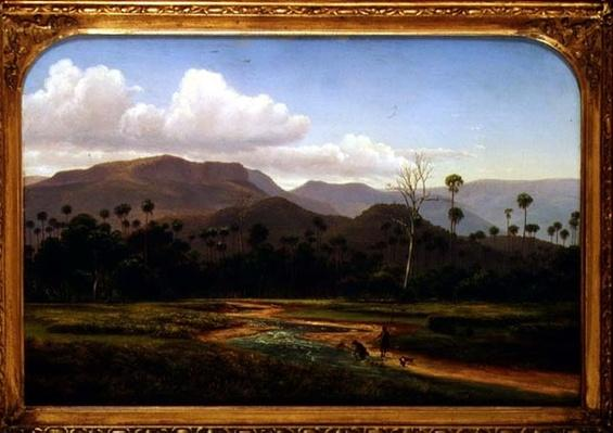 Mountain Scenery near Jamboroo, Victoria, 19th century