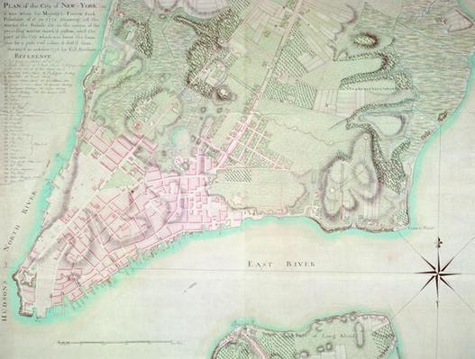 Plan of New York, 1776
