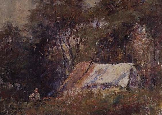 A Camp in the Bush, Macedon, 20th century