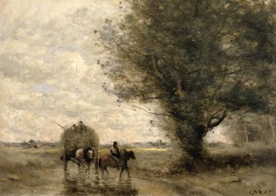 The Haycart, c. 1860