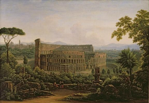 View of the Colosseum from the Palatine Hill, Rome, 1816