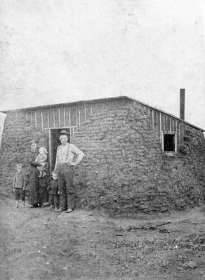 Old West Homestead Portrait | The Wild West is Tamed (1870-1910) | U.S. History