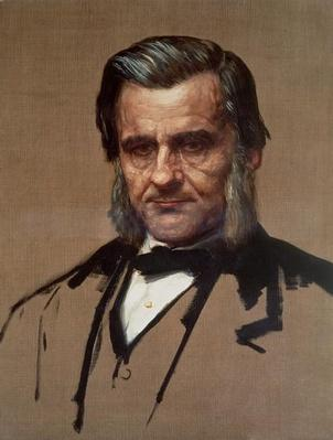 Portrait of Thomas Henry Huxley