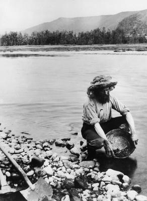 Panning For Gold | The Wild West is Tamed (1870-1910) | U.S. History