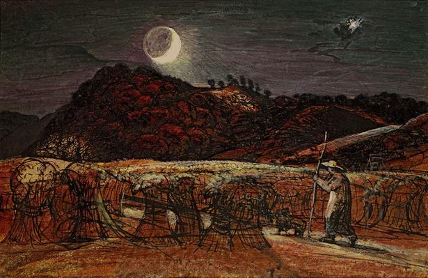 Cornfield by Moonlight, with the Evening Star, c.1830