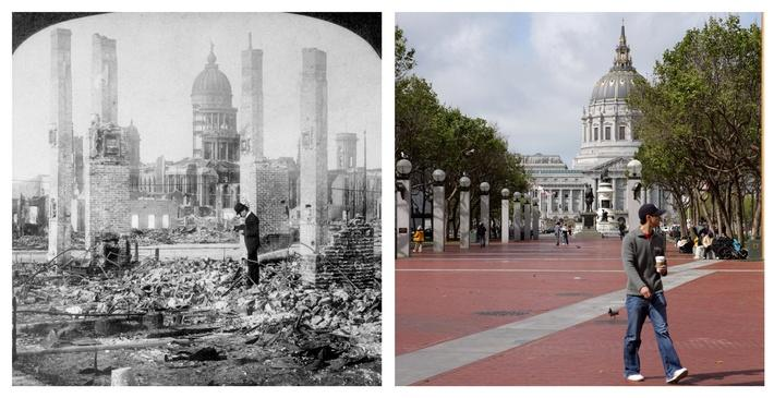 The 1906 San Francisco Earthquake: Then And Now | Natural Disasters: Hurricanes, Tsunamis, Earthquakes