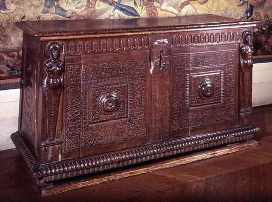 Walnut Sideboard, Lyonnais School