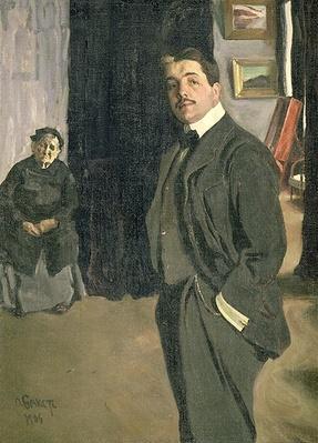 Portrait of Sergei Pavlovich Diaghilev