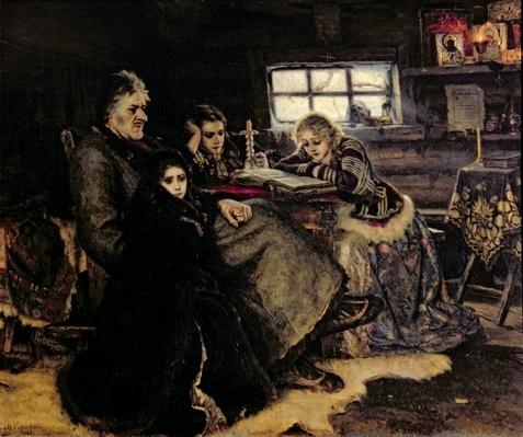 The Menshikov Family in Beriozovo, 1883
