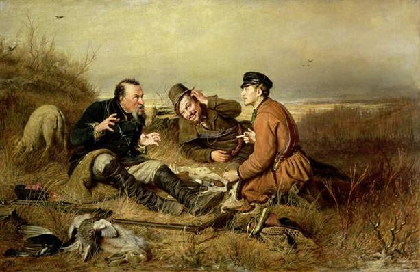 Hunters, 1816