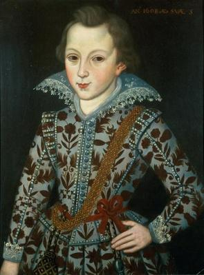 Portrait of a Young Boy, Aged Five