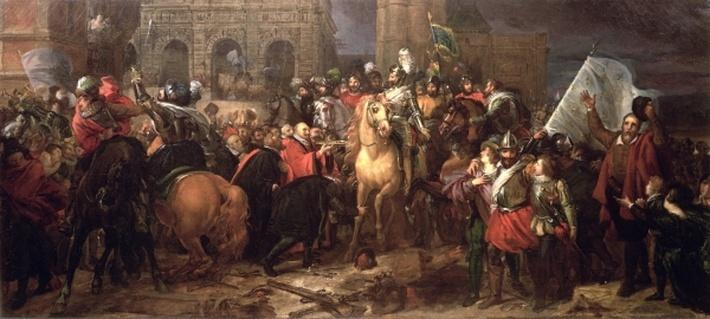 Entry of Henri IV into Paris, 22nd March 1594
