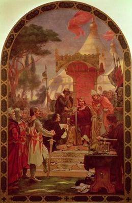 King John Granting the Magna Carta in 1215, 1900
