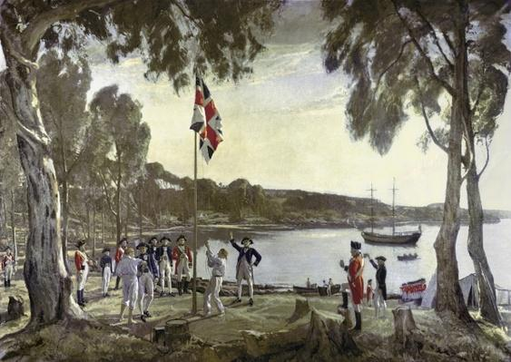 The Founding of Australia by Capt. Arthur Phillip, 26th January 1788
