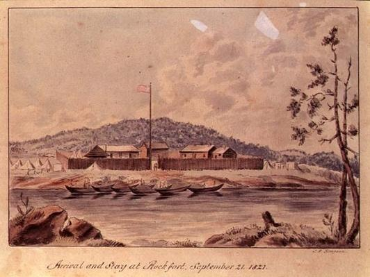 Arrival and Stay at Rockfort, 1821