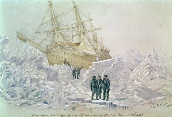 Incident on a Trading Journey: HMS Terror Thrown up by the Ice, March 15th 1837