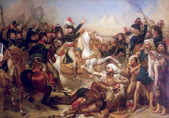 The Battle of the Pyramids, 21st July 1798