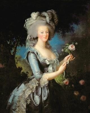 Marie Antoinette with a Rose, 1783