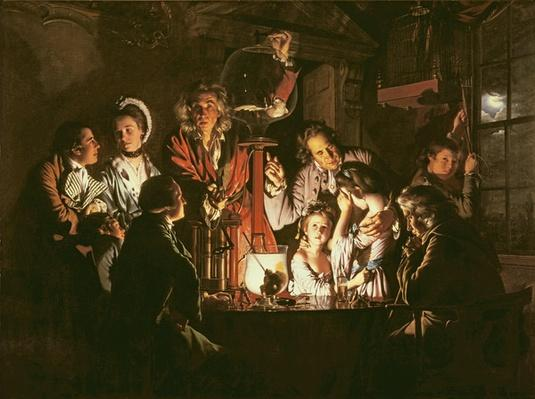 An Experiment on a Bird in the Air Pump, 1768