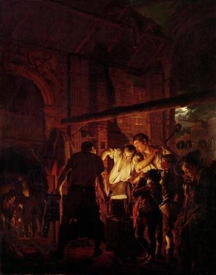 A Blacksmith's Shop, 1771