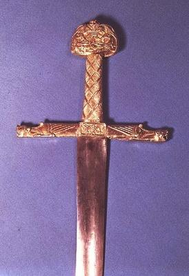 Coronation sword of the Kings of France, belonging to Charlemagne