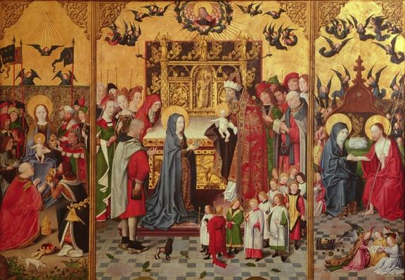 The Seven Joys of the Virgin Altarpiece, c.1480