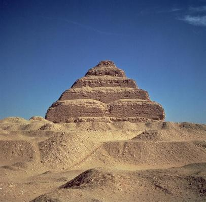 The Step Pyramid of King Djoser, c.2630-2611 BC