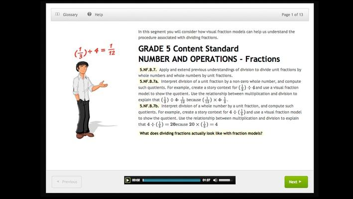 Whole Numbers and Unit Fractions: 5.NF.B.7   Tennessee Department of Education