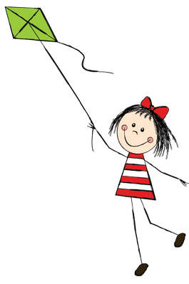 Set of Little Girls - 4 | Clipart