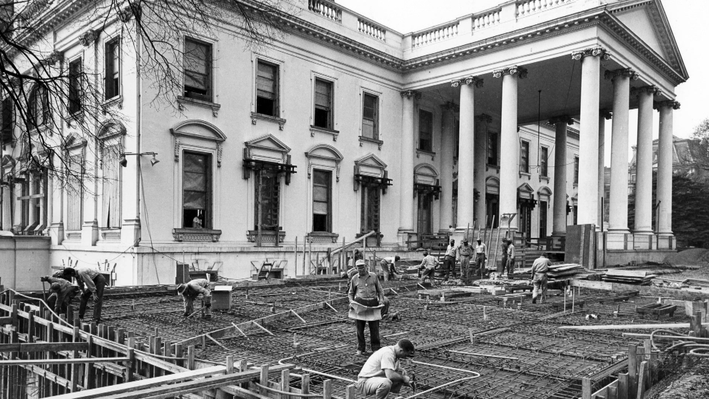The White House: Inside Story | White House Renovations