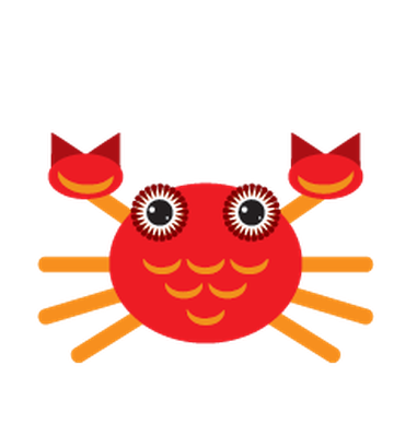 Animals of Australia - Crab | Clipart