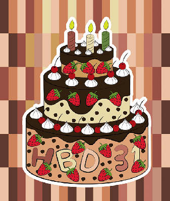 Birthday Cake | Clipart