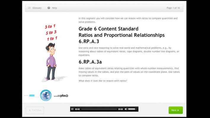 Ratios and Proportional Relationships - Grade 6 - 6.RP.A.3a