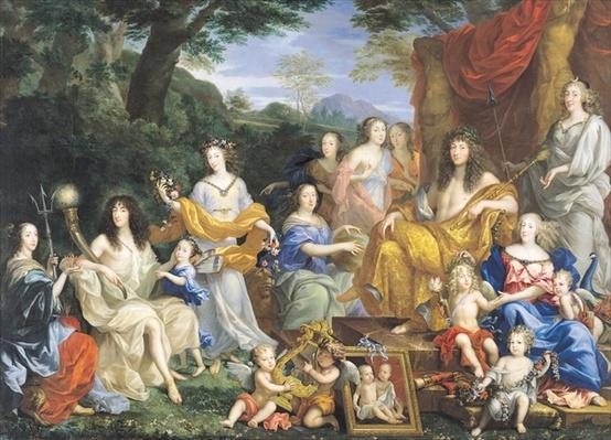 The Family of Louis XIV