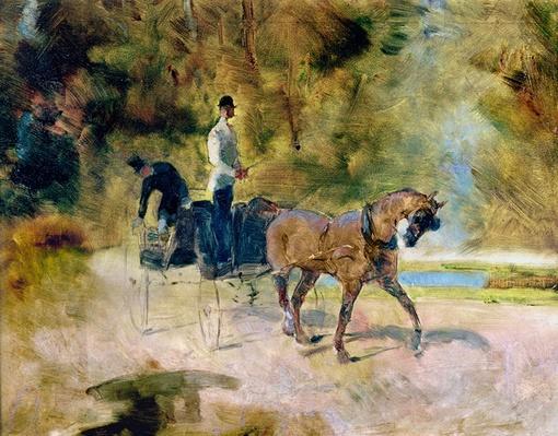 A Dog-Cart, 1880