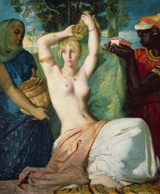 The Toilet of Esther, 1841