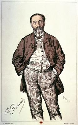 Portrait of Camille Saint-Saens
