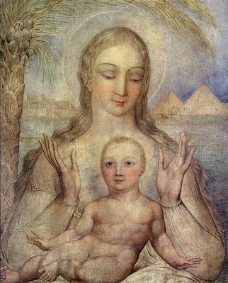 The Virgin and Child in Egypt, 1810