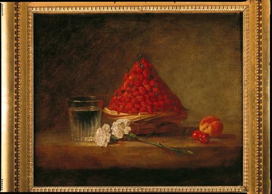 Basket with Wild Strawberries, c.1761