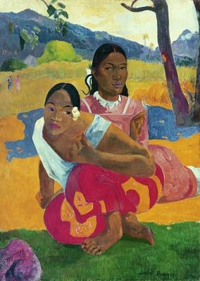 Nafea Faaipoipo by  Gauguin, Paul (1848-1903)