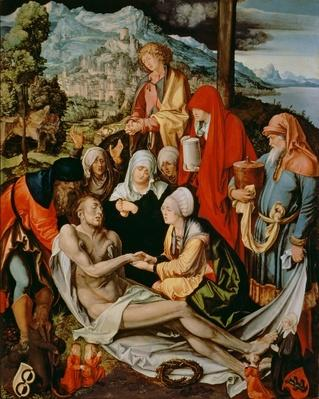 Lamentation for Christ, 1500-03
