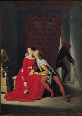 Gianciotto Discovers Paolo and Francesca, 1814