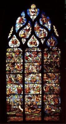 Window depicting the Tree of Jesse