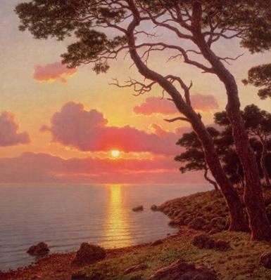 Calme de Soir, Cote d'Azur