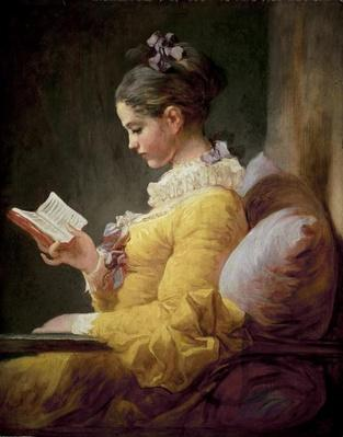 Young Girl Reading, c.1770